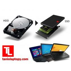 ZMIANA HDD na SSD 120 GB