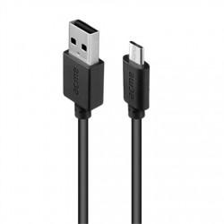 KABEL MICRO USB 2M CZARNY...